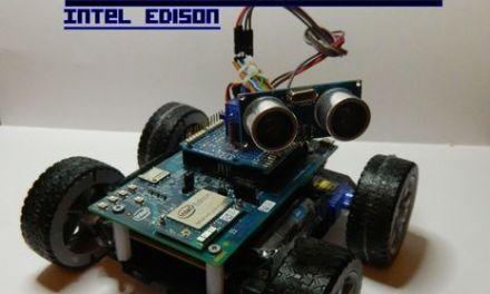Un robot detector de obstaculos con #arduino