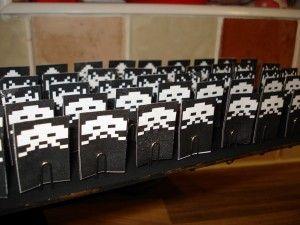 spaceinvaders - Juega a los marcianitos con fuego real gracias a #arduino