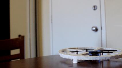 jackiedrone - Un drone para vigilarnos la casa