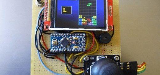 arduino color tetris - Una consola portátil mini con Arduino