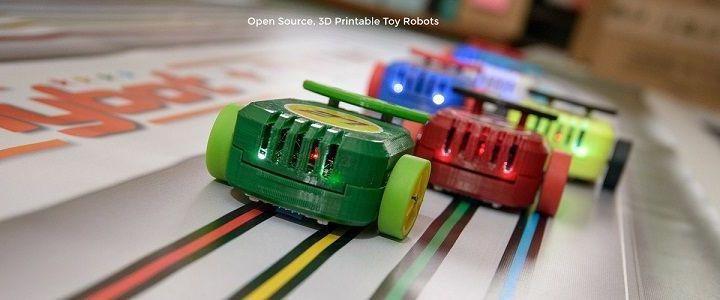 canny - Unos cochecitos de carrera impresos en 3D y open source