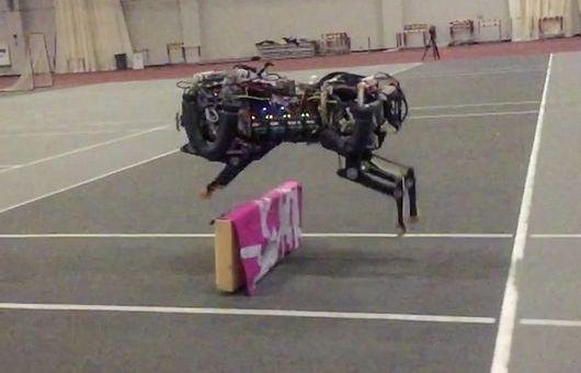 mitguepardo - El robot del MIT ya salta obstáculos