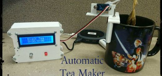 teamaker - Arduino te ayuda a preparar el té de las cinco