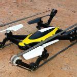 Un dron para aire y para tierra