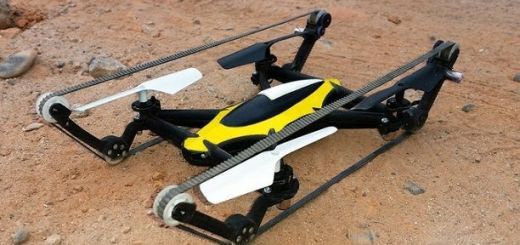 tankdrone - Un dron para aire y para tierra