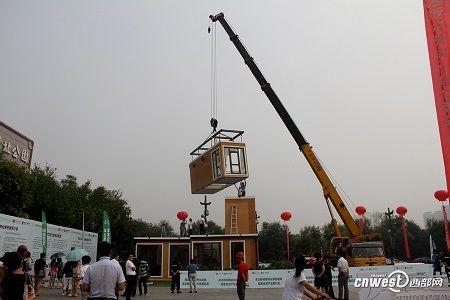 edificio3d3-450x300 Una casa impresa en 3D montada en 3 horas.