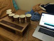 illuminaphone2 450x338 - Arduino y unas tazas de café hacen un original instrumento musical