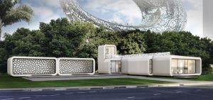 oficina-impresa3D-2-300x141 El primer edificio de oficinas impreso en 3D se construirá en Dubai