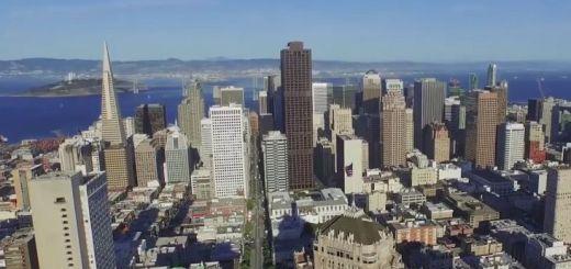 sanfrancisco drone - La ciudad de San Francisco a vista de dron