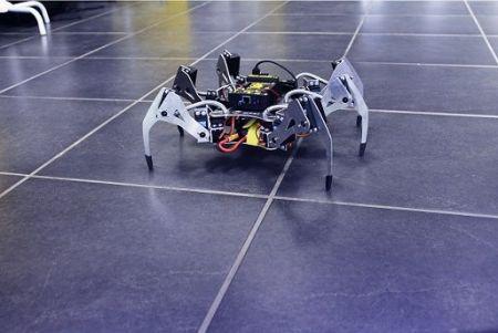 SPIDER1 450x301 - Erle-Spider: El primer hexápodo Ubuntu con soporte para ROS