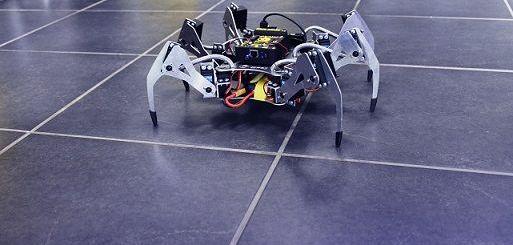 SPIDER1 - Erle-Spider: El primer hexápodo Ubuntu con soporte para ROS