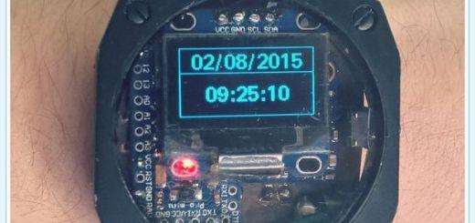 arduino smartwatch - Smartwatch Arduino con altímetro, podómetro, brújula y temperatura