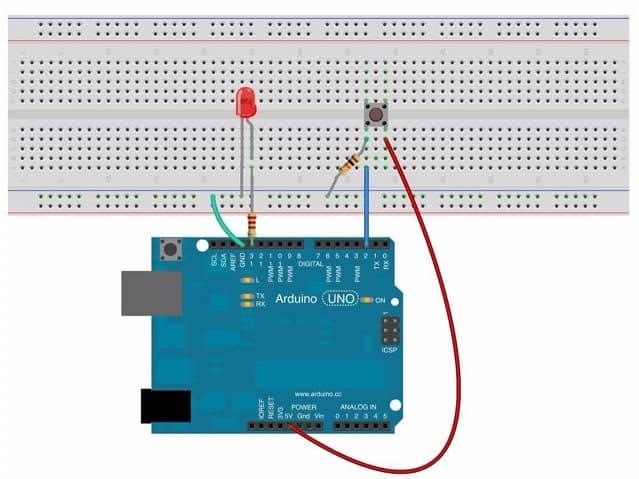 leer un pulsador con Arduino - Tutorial Arduino: Pulsador. Introducción y ejemplos