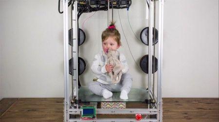 the beast 3d printer 450x250 - The Beast, la gran impresora 3D para tus grandes ideas.