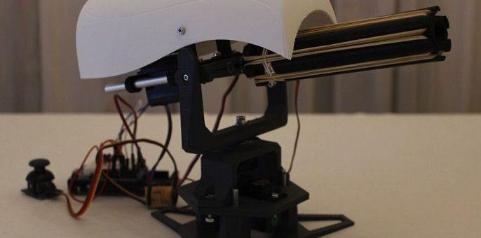 torreta arduino - Construye una torreta móvil lanzadora de proyectiles con Arduino