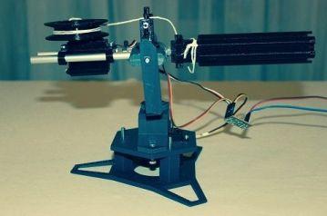 torreta-arduino2-450x298 Construye una torreta móvil lanzadora de proyectiles con Arduino