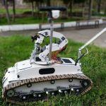 Crea un robot desactivador de explosivos
