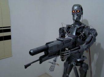 terminator arduino 609x450 - Crea una réplica de Terminator con Arduino