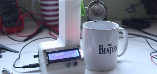 Automatic Tea Timer - Un temporizador para una tetera impresa en 3D y controlada con Arduino