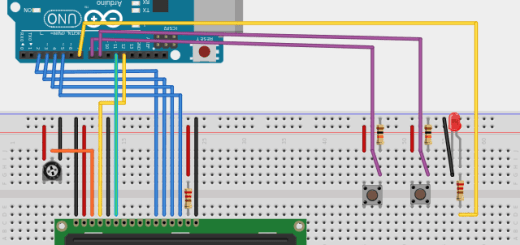 LCD buttons bb - Tutorial Arduino: Pantalla LCD con texto deslizante mediante pulsadores