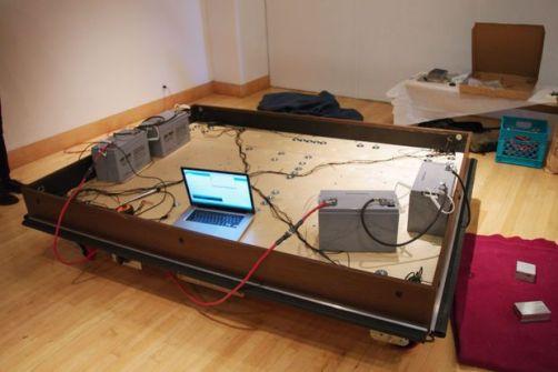 cama arduino - Una cama robot que se mueve autonomamente