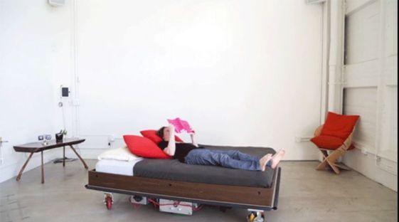 cama-arduino1 Una cama robot que se mueve autonomamente