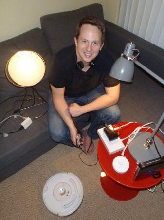 controlando-337x450 Controla tu robot Roomba por voz gracias a Raspberry Pi y Arduino
