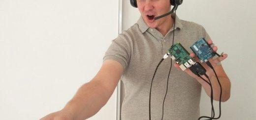 controlando1 - Controla tu robot Roomba por voz gracias a Raspberry Pi y Arduino