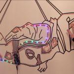 Un mural espacial interactivo creado con Arduino