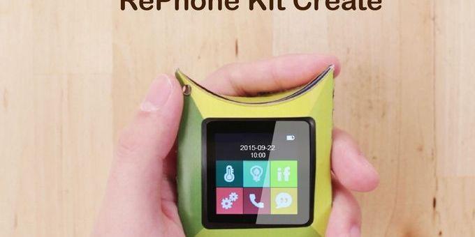 rephone - RePhone, un teléfono DIY de código abierto compatible con Arduino
