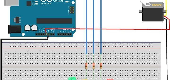 BarreraTren - Tutorial Arduino: Barrera de tren