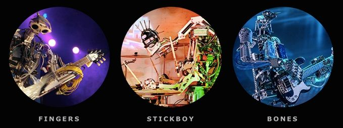 compressorhead - Buscan un robot vocalista para esta especial banda de Rock