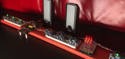 inteledison piano - Un piano ultrasónico con Intel Edison