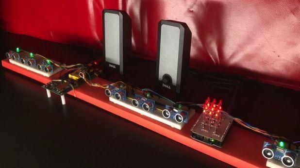 Un piano ultrasónico con Intel Edison
