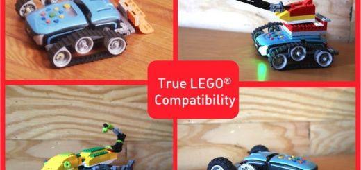 phiro4 - Phiro, un robot compatible con LEGO para niños