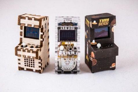 tinyarcades2 Tiny Arcade, las máquinas de videojuegos más pequeñas