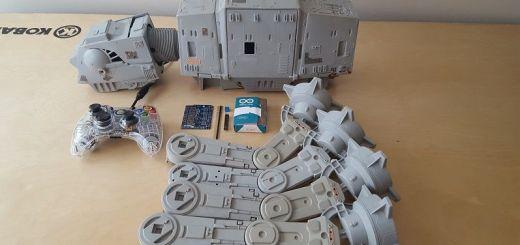at at arduino - Monta tu robot AT-AT de la Guerra de las Galaxias