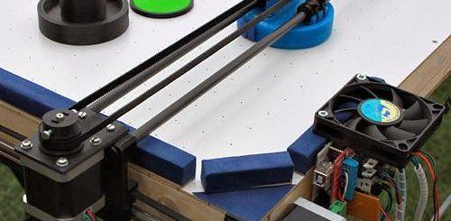hockey arduino - Juega al Air Hockey contra este robot controlado por Arduino