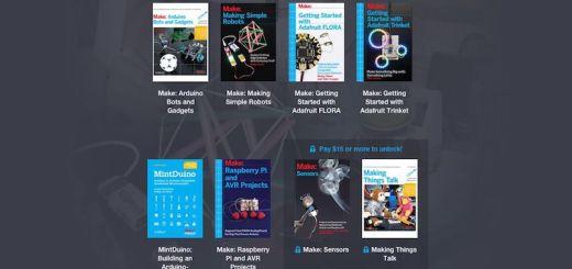 humblemaker - Paga lo que quieras por esta colección de libros de Arduino y de Raspberry Pi