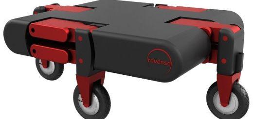 roveo - ROVéo , un robot que se adapta a los obstáculos