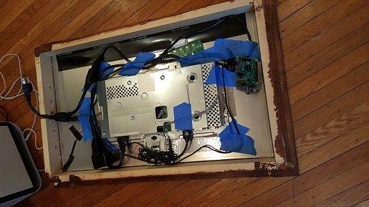 espejo-raspberry-pi3-1 Construye un moderno espejo informativo con una Raspberry Pi