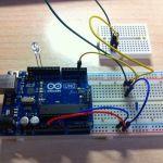 interruptorarduino-150x150 Tutorial Arduino: Medida distancia con leds y ultrasonidos