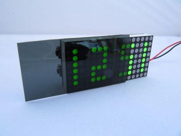 reloj-matrix3-600x450 Un reloj a lo Matrix con Arduino