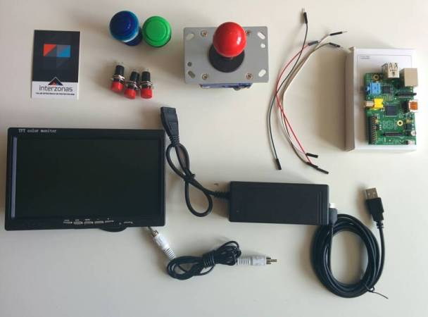 arcade raspi2 608x450 - Tutorial Raspberry Pi: Construye tu máquina arcade con Raspberry Pi