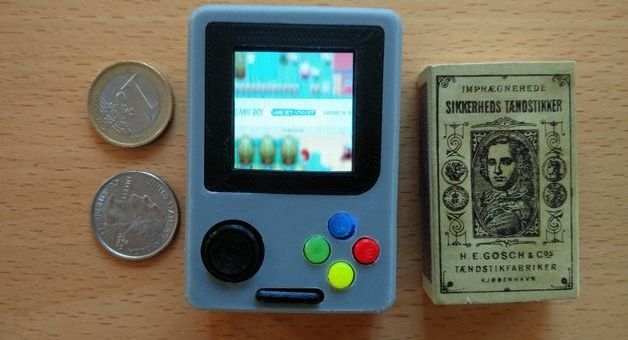 Construye una mini Gameboy