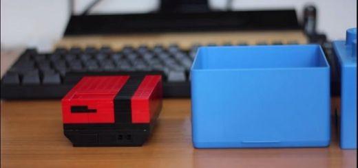 nintendo pi - Construye con LEGO una carcasa para Raspberry Pi a semejanza de una Nintendo NES