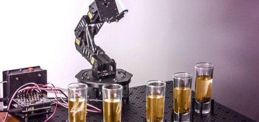 bartender arduino - Construye un barman robótico con Arduino
