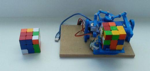 robot impreso en 3D