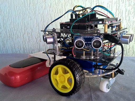 construir robot aspirador casero