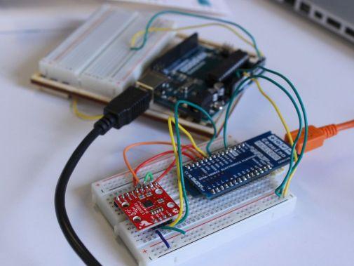 pilgrim2 600x450 - Construye una brújula inteligente con Arduino MKR1000